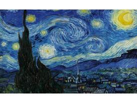 Fotobehang Vlies | Van Gogh | Blauw, Geel | 368x254cm (bxh)