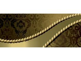 Fotobehang Modern | Gouden | 250x104cm