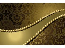 Fotobehang Modern | Gouden | 208x146cm