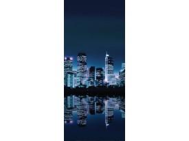 Fotobehang Toronto | Blauw | 91x211cm