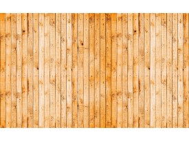 Fotobehang Papier Hout | Oranje, Geel | 254x184cm