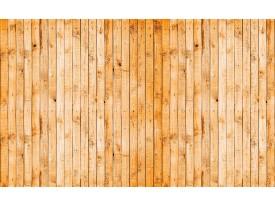 Fotobehang Hout | Oranje, Geel | 104x70,5cm