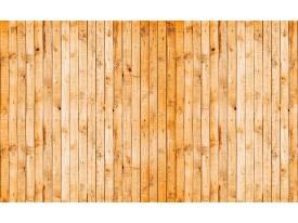 Fotobehang Vlies | Hout | Oranje, Geel | 368x254cm (bxh)