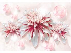 Fotobehang Vlies | Bloem | Roze, Rood | 368x254cm (bxh)