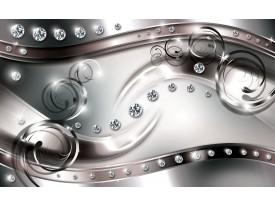 Fotobehang Vlies | Modern | Zilver, Bruin | 368x254cm (bxh)