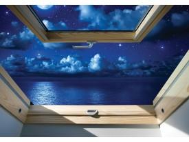 Fotobehang Vlies | Natuur, Nacht | Blauw | 368x254cm (bxh)