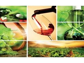 Fotobehang Vlies | Keuken, Landelijk | Groen | 368x254cm (bxh)