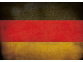 Fotobehang Vlies   Vlag   Rood, Geel   368x254cm (bxh)