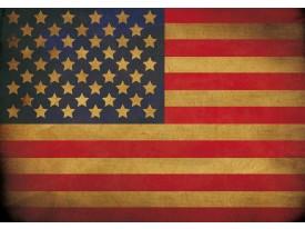 Fotobehang Vlies | Vlag | Rood, Geel | 368x254cm (bxh)