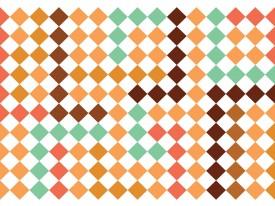 Fotobehang Vlies | Modern | Bruin, Groen | 368x254cm (bxh)