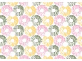 Fotobehang Vlies | Modern | Geel, Grijs | 368x254cm (bxh)