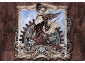 Fotobehang Vlies | Gothic, Modern | Bruin | 368x254cm (bxh)