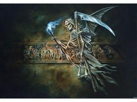 Fotobehang Vlies | Gothic, Dood | Grijs | 368x254cm (bxh)