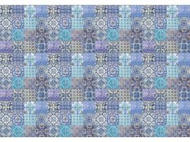 Fotobehang Vlies | Klassiek | Blauw, Paars | 368x254cm (bxh)