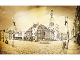 Fotobehang Vlies | Steden | Geel, Bruin | 368x254cm (bxh)
