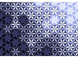 Fotobehang Vlies | Design | Paars, Blauw 368x254cm (bxh)
