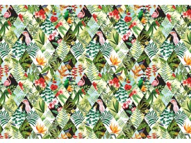 Fotobehang Vlies   Kleurrijk   Groen, Geel   368x254cm (bxh)