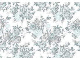 Fotobehang Vlies | Klassiek | Grijs, Blauw | 368x254cm (bxh)