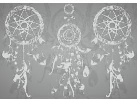 Fotobehang Vlies   Modern   Grijs, Paars   368x254cm (bxh)