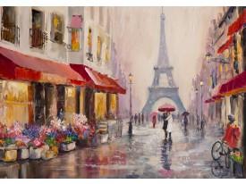 Fotobehang Vlies | Parijs | Rood | 368x254cm  (bxh)