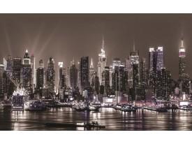 Fotobehang New York | Grijs | 312x219cm