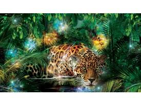 Fotobehang Jungle | Groen, Bruin | 208x146cm