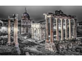 Fotobehang Rome, Stad | Grijs | 208x146cm