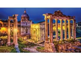 Fotobehang Rome, Stad | Geel | 104x70,5cm
