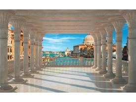 Fotobehang Stad, Venetië | Blauw | 104x70,5cm