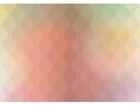 Fotobehang Vlies | Abstract | Geel, Roze | 368x254cm (bxh)