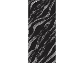 Deursticker Muursticker Design | Zwart | 91x211cm
