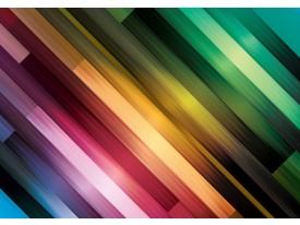 Fotobehang Vlies | Abstract | Groen, Paars | 368x254cm (bxh)