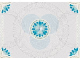 Fotobehang Abstract | Grijs, Blauw | 208x146cm