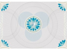 Fotobehang Vlies | Abstract | Grijs, Blauw | 368x254cm (bxh)