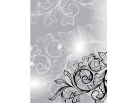 Fotobehang Papier Modern | Zwart, Grijs | 184x254cm