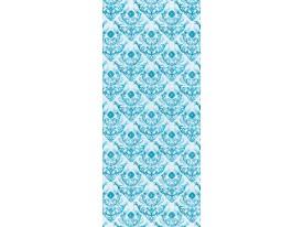 Deursticker Muursticker Klassiek | Blauw | 91x211cm