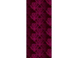 Deursticker Muursticker Klassiek | Roze | 91x211cm
