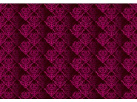 Fotobehang Vlies   Klassiek   Roze   368x254cm (bxh)