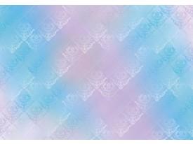 Fotobehang Vlies | Klassiek | Roze, Blauw | 368x254cm (bxh)