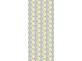 Deursticker Muursticker Modern   Groen, Geel   91x211cm