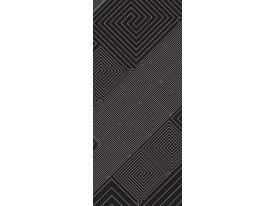 Deursticker Muursticker Modern | Grijs | 91x211cm