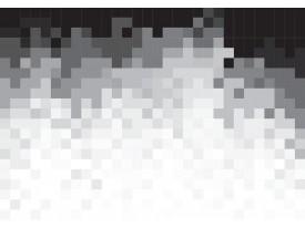 Fotobehang Abstract | Zwart, Wit | 104x70,5cm