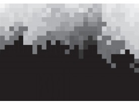 Fotobehang Abstract | Zwart, Grijs | 208x146cm
