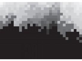 Fotobehang Vlies   Abstract   Zwart, Grijs   368x254cm (bxh)