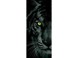 Fotobehang Dieren | Zwart | 91x211cm