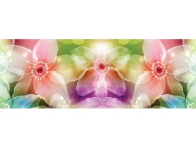 Fotobehang Vlies Bloemen | Roze, Paars | GROOT 832x254cm