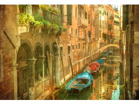 Fotobehang Venetië | Bruin | 208x146cm