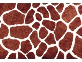 Fotobehang Giraffe   Bruin   104x70,5cm