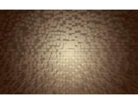 Fotobehang 3D   Grijs, Bruin   152,5x104cm