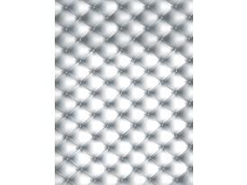 Fotobehang Papier Gewatteerd | Grijs, Wit | 184x254cm